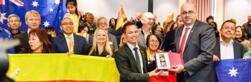 Cờ Vàng wird permanent einen Platz in der Stadt Port Adelaide Enfield erhalten
