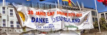 Cap Anamur 35-jähriges Jubiläum – Rückblick