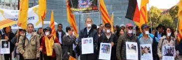 Protest gegen Việt Cộng Nguyễn Tấn Dũng