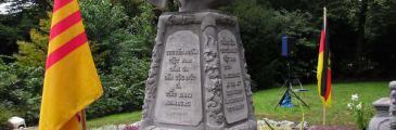 Das Denkmal an boat people in Hamburg