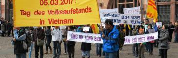 05.03.2017 - Der Tag des Volksaufstandes in Vietnam