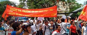 Demos in Saigon und Hanoi am 05.06.2011