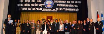 Vietnamesische Boat-People danken Deutschland