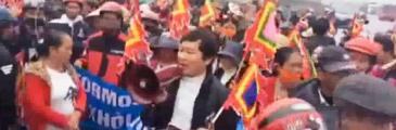 Vietnamesische Behörden schlagen Protestmarsch nieder