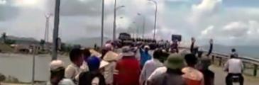 Fischer protestieren in der Quang Binh Provinz – Polizei antwortet mit Gewalt