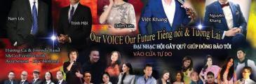 Benefizkonzert Our Voice Our Future